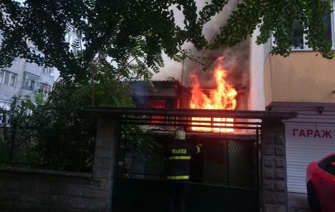 Пожар в къщата на Йордан Йовков