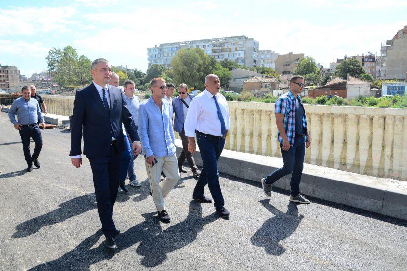 Премиерът Бойко Борисов провери ремонтите