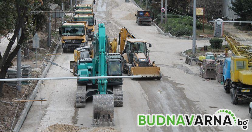 Започва ремонтът на още 5 км от пътя Златни пясъци – Варна