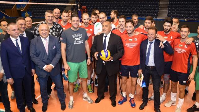 Бойко Борисов: Волейболистите ни са пример за подражание на младите (видео)
