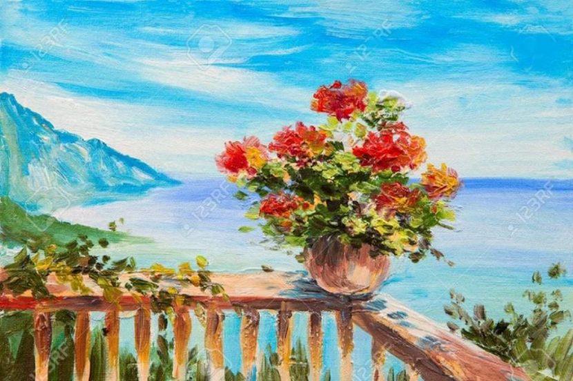 """Днес в """"Cheers Art Class"""" ще се рисува """"морска тераса"""""""