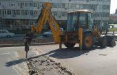 """ВиК авария причина за разкопания нов асфалт на бул. """"Левски"""""""