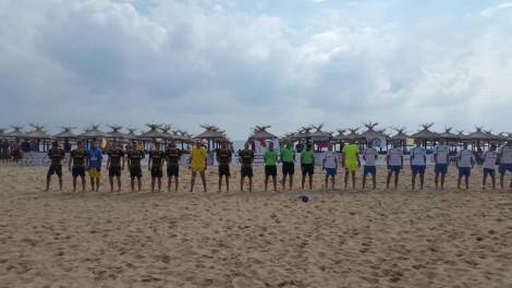 Край Варна се проведе Европейско първенство по плажен футбол за полицаи