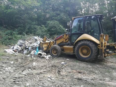 """Събраха 60 тона отпадъци в горите край """"Аспарухово"""""""