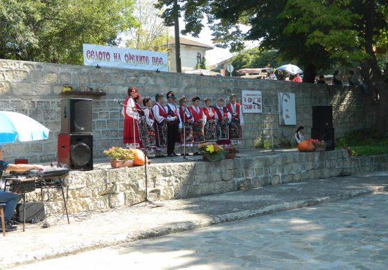 """Девети събор """"Селото на орехите пее"""" в село Добрина"""