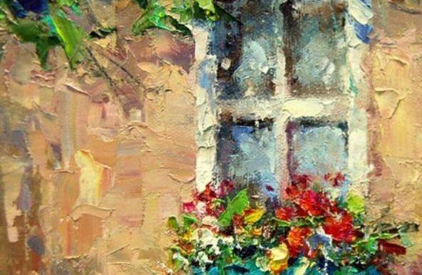 """Днес в """"CHEERS ART CLASS"""" ще се рисува """"романтичен прозорец"""""""