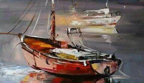 """Днес в """"CHEERS ART CLASS"""" ще се рисува """"лодки в мрачното море"""""""