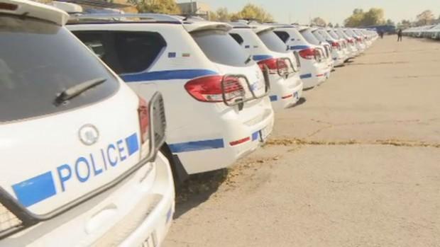Полицаите се качват на 341 нови джипа