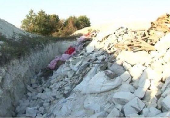 Незаконно сметище изникна край село Осеново