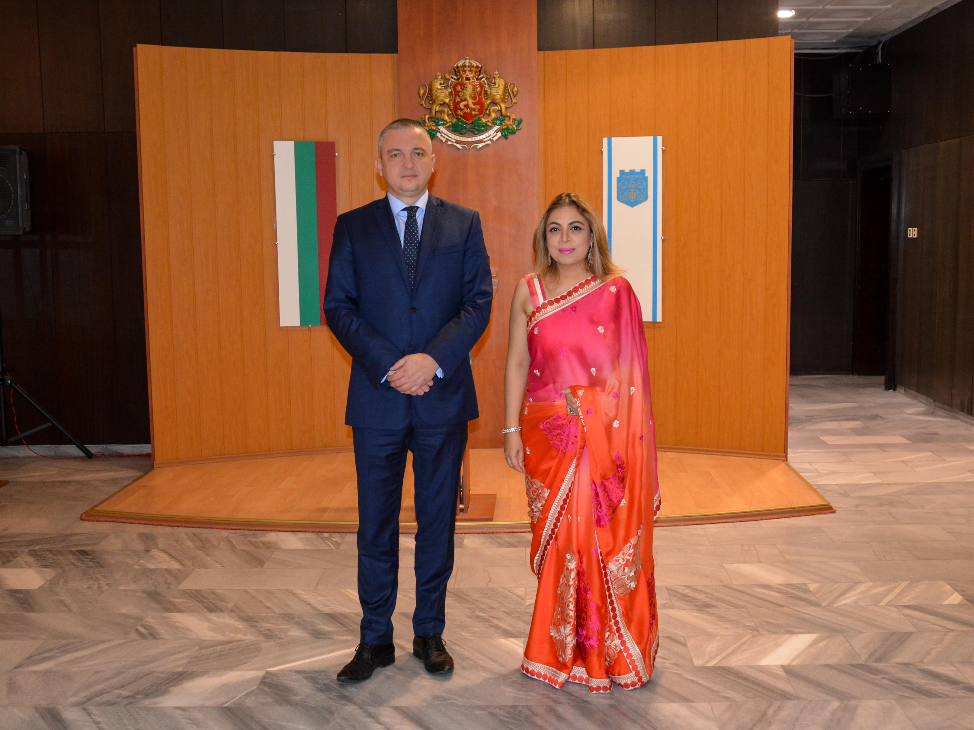 Иван Портних проведе среща с посланика на Индия у нас