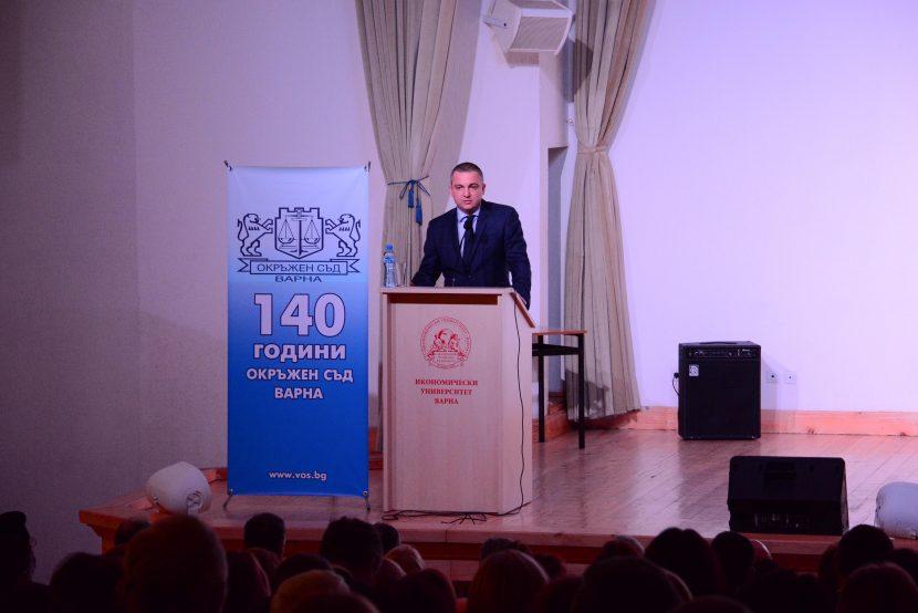 Отбелязаха с тържествен концерт 140 г. от създаването на съдебна и държавна власт във Варна