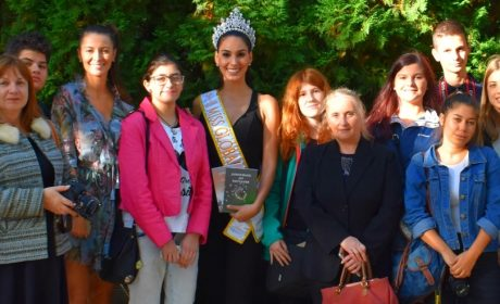 Мис Бразилия вдъхнови деца от ОДК – Варна