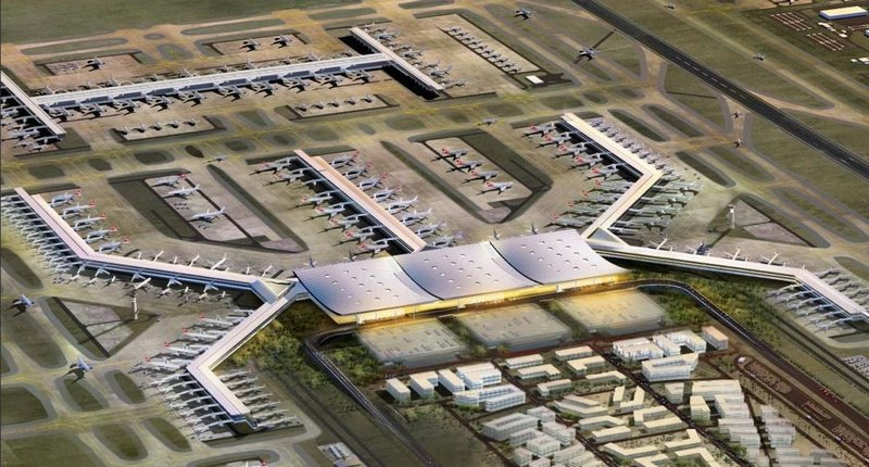 Утре откриват най-голямото летище в света което се намира само на 400 км от Варна