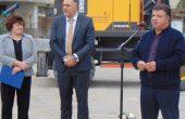 Стоян Пасев и Красимира Анастасова направиха първа копка на втори етап от градежа на канализация в Долни чифлик