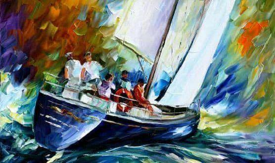 """Днес в """"CHEERS ART CLASS"""" ще се рисува """"ветроходна яхта"""""""