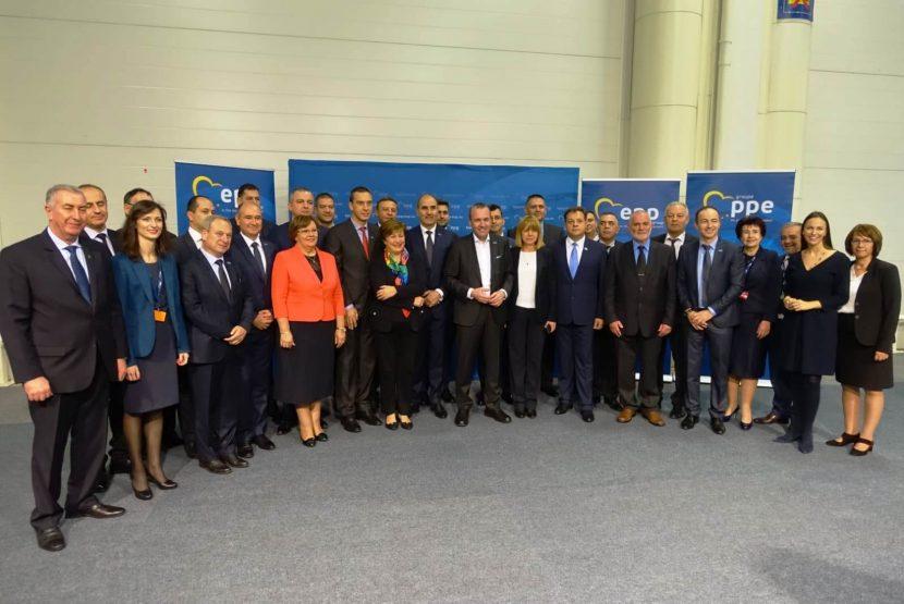 Среща с претендента за водещ кандидат на ЕНП за председател на новата Европейска комисия Манфред Вебер