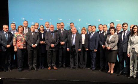 Цветан Цветанов и кметове от ГЕРБ се срещнаха с председателя  на Европейската народна партия Жозеф Дол