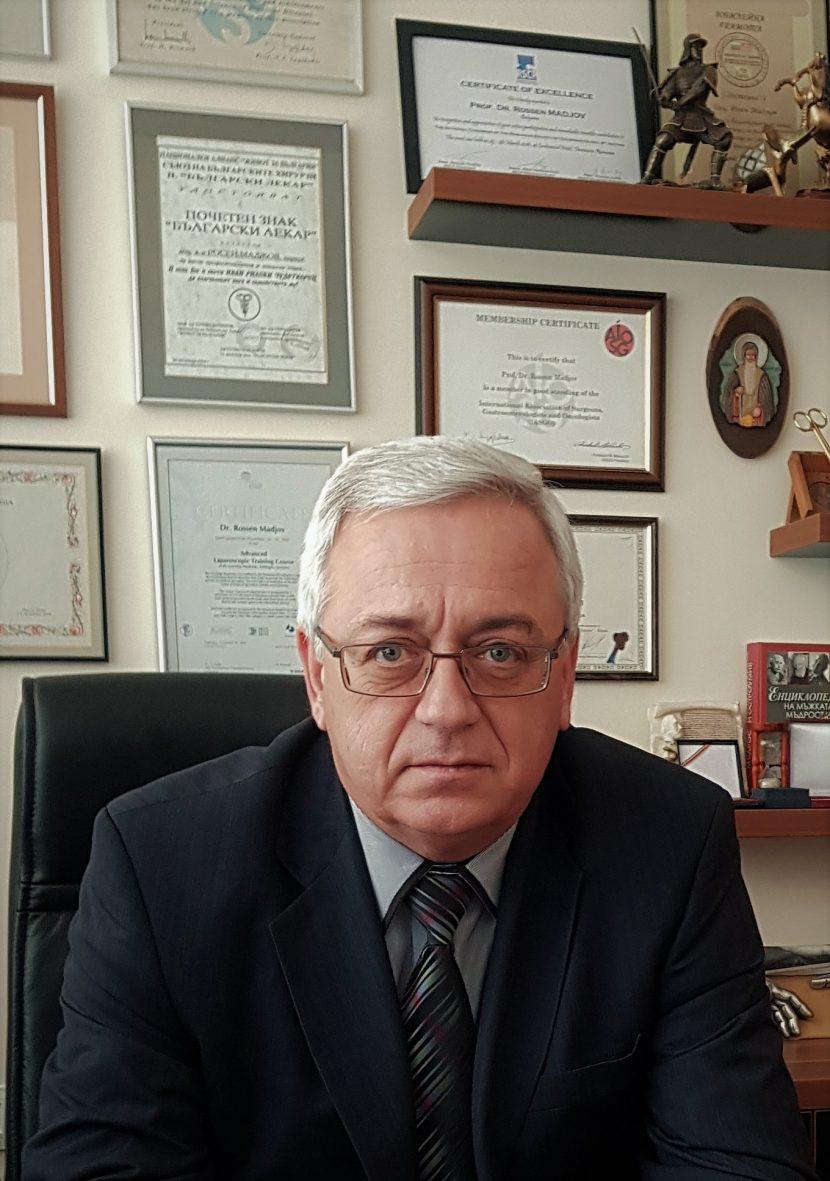 Избраха варненски професор за президент на Европейското хирургическо дружество