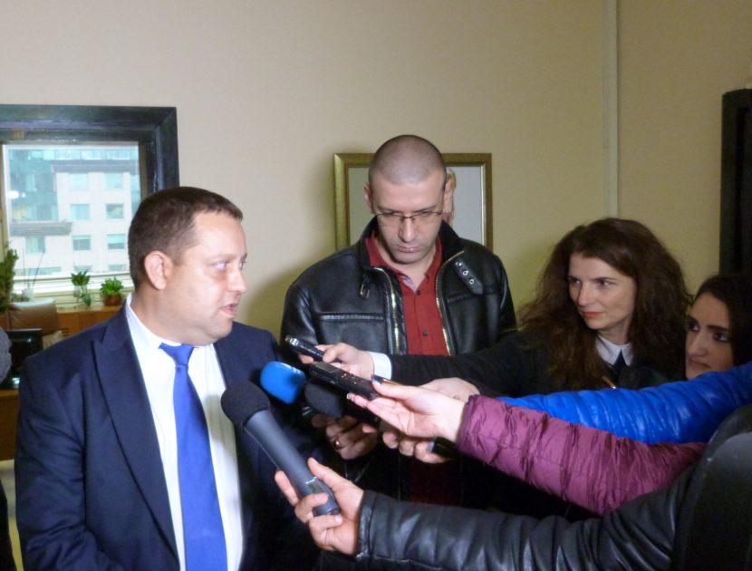 Председателят на Общинския съвет Тодор Балабанов прие представители на таксиметровия бранш