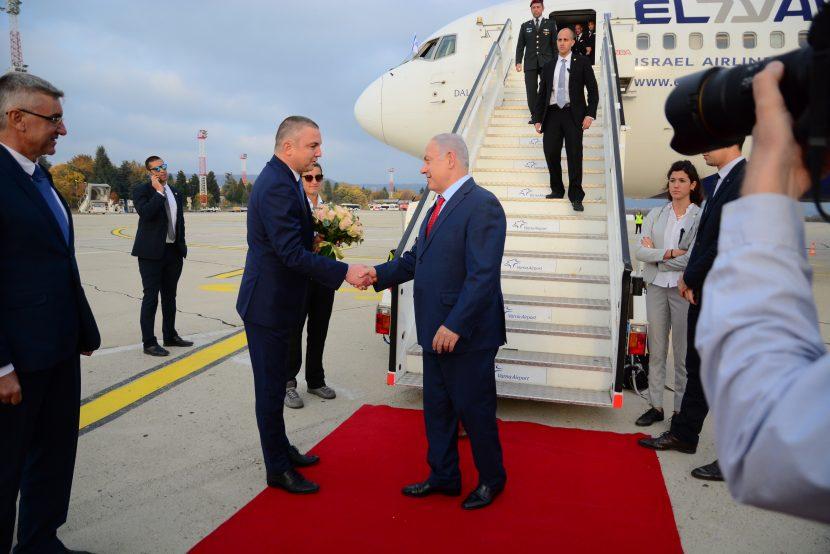 Премиерът на Държавата Израел Бенямин Нетаняху пристигна във Варна