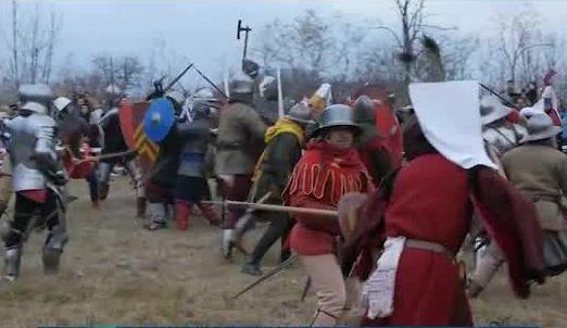 Военен ритуал и възстановки за годишнина от Битката при Варна
