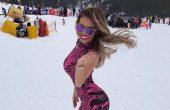 Гери-Никол, Банско и как изпълнителката откри ски сезона