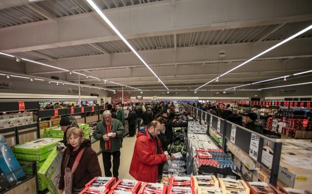 Lidl откри във Варна най-големия си магазин у нас