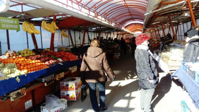 На пазар във Варна в навечерието на новата 2019-а
