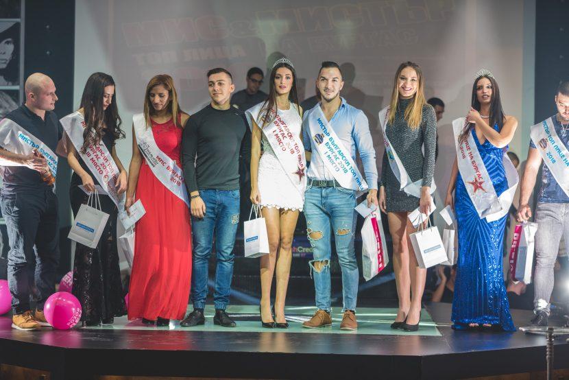 Мис и мистър български топ лица- Варна 2018 прекроява нощния морски мегаполис