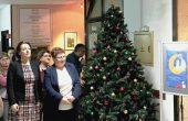 Емилия Милкова беше гост на коледна изложба във варненската библиотека
