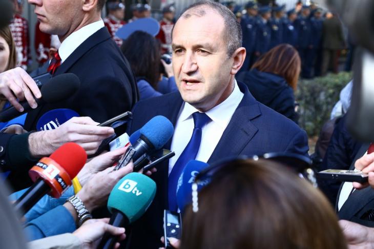 Президентът Радев: Въпросът за предсрочните избори вече не е дали, а кога