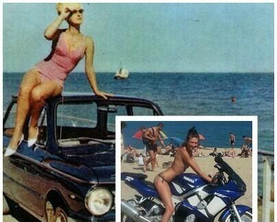 На плаж във Варна 1978 и 2018 (снимки)