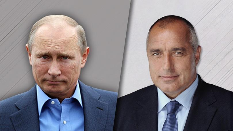 Борисов се чу по телефона с Путин, обсъдиха енергетиката