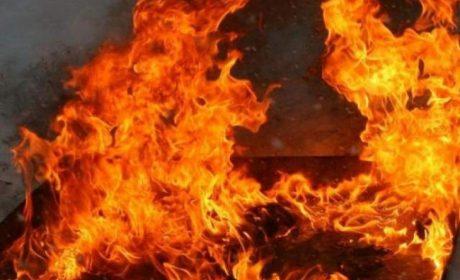 Изгоря къща в центъра на Варна