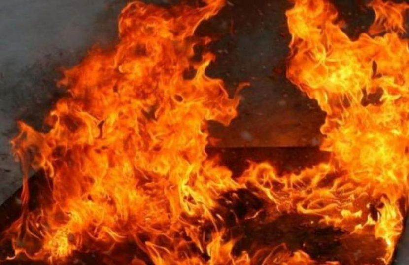 Огнен ад минути преди настъпването на Нова година