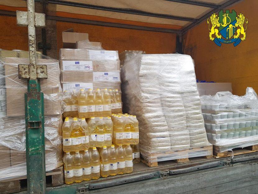 В Девня започва раздаването на хранителни продукти за социално слаби