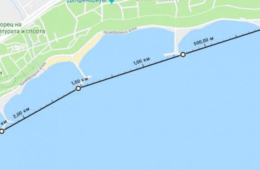 Варненец ще плува 2,2 км благотворително в ледени морски води