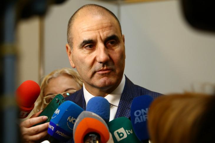 Цветанов: Радев създава допълнително напрежение и има предпоставки за разделение в обществото