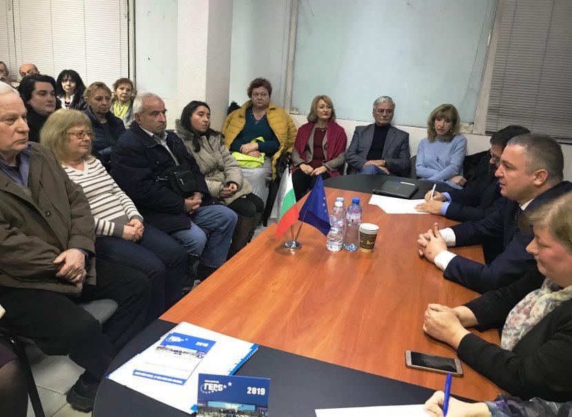"""Иван Портних в """"Одесос"""": Рекордният бюджет на Варна гарантира обновяване във всеки район"""