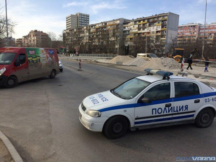 """Извънредно: Откриха снаряд при ремонта на бул. """"Левски"""""""