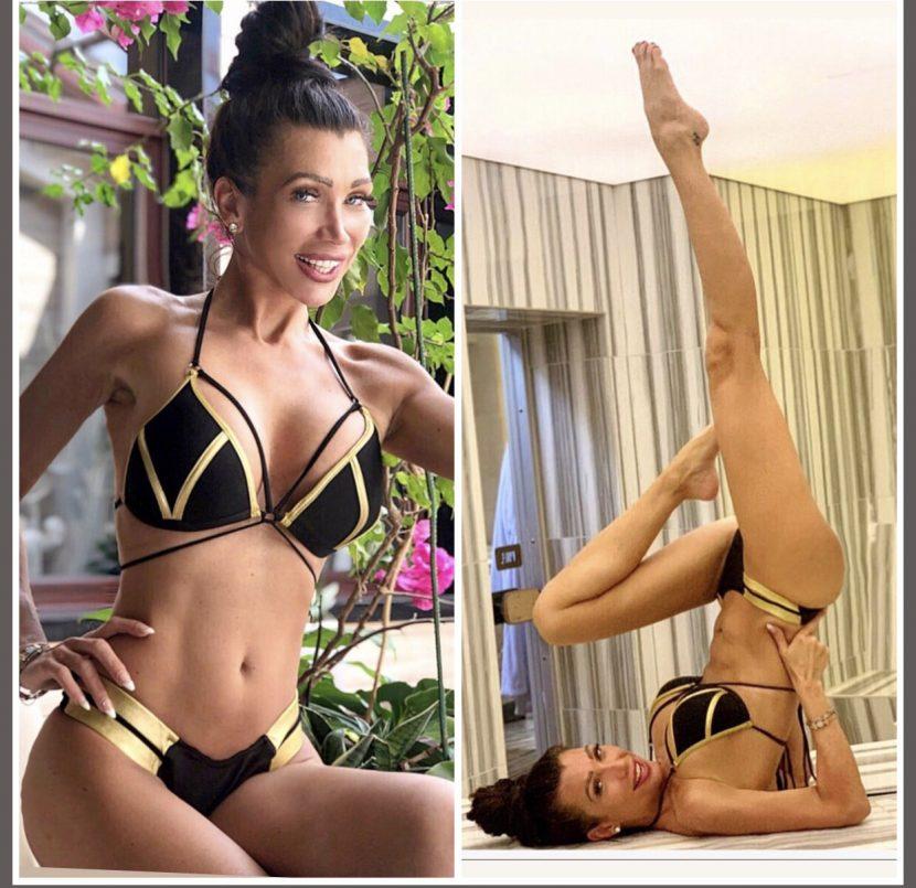 Катрин Вачева показа секси тяло, което подържа с йога-техники (снимки)
