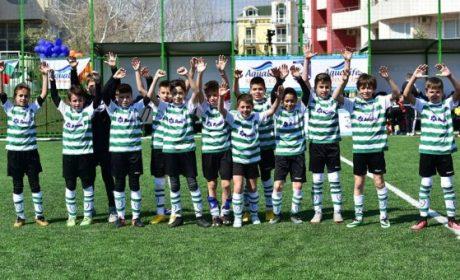 Децата на Черно море с бронзови медали от международен турнир