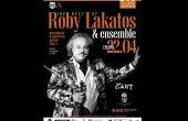Кралят на циганската цигулка Роби Лакатош с първи концерт в България