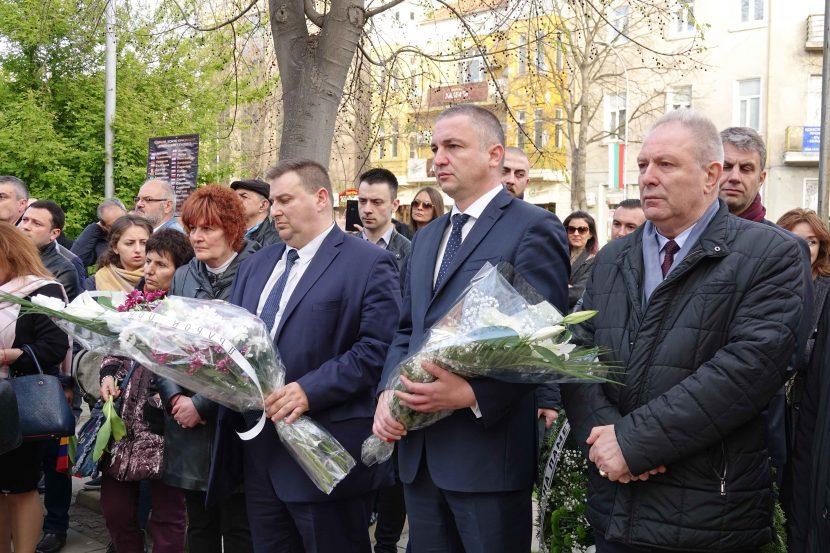 Отбелязаха във Варна 104 години от арменския геноцид (снимки)