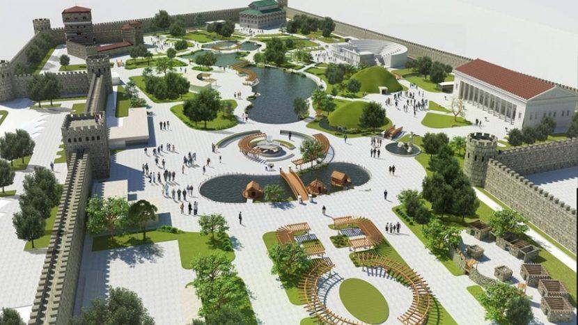 Исторически парк ще се открие до Варна (видео)