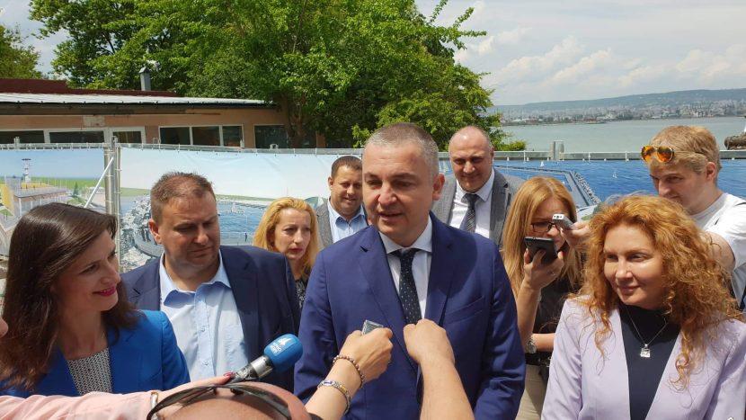 Иван Портних: Рибарското селище на Аспарухово ще бъде най-модерното по черноморието (видео)