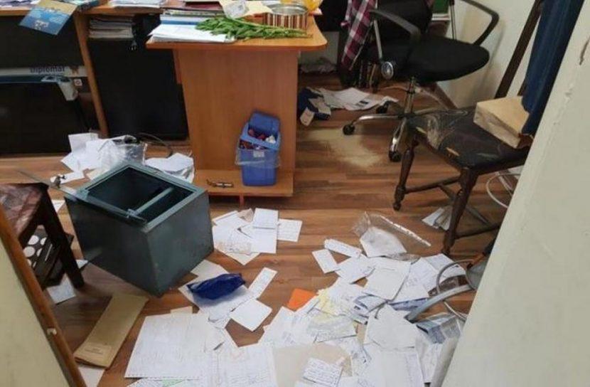 Разбиха офиса на ДСБ във Варна