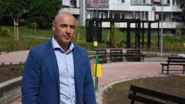 """На 90% е готово облагородяването на IV микрорайон във """"Владиславово"""""""