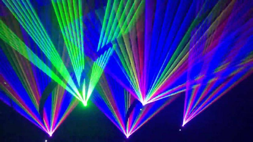 Лазерно шоу за официалния старт на туристически сезон 2019
