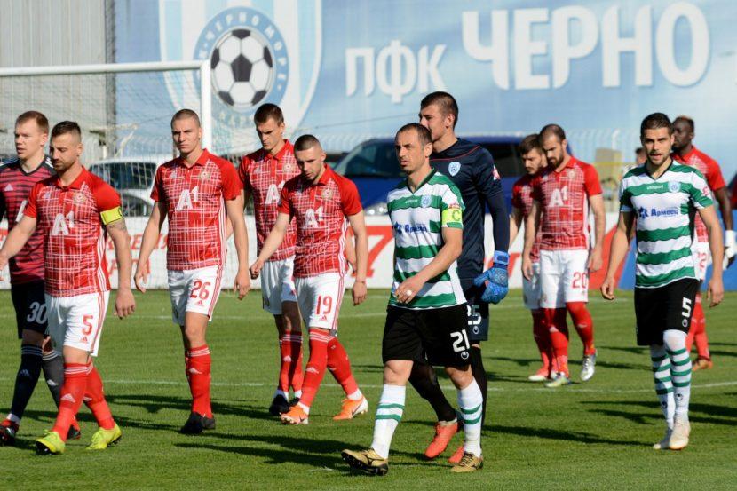 Порязаха Черно море срещу ЦСКА